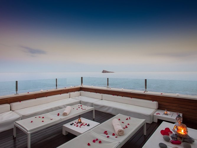 Sunset terrace hotel villa venecia boutique gourmet benidorm