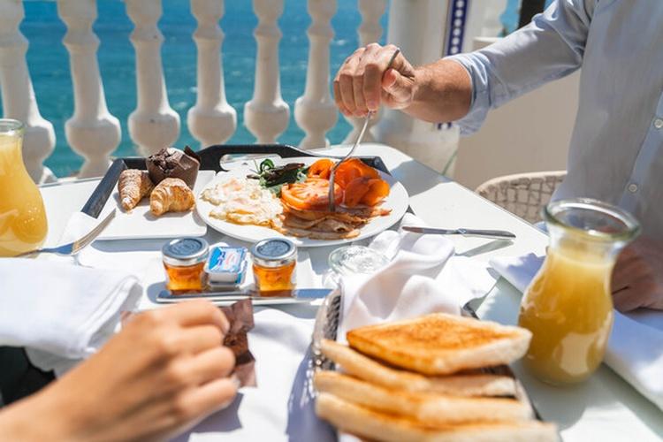 Desayuno hotel villa venecia boutique gourmet benidorm