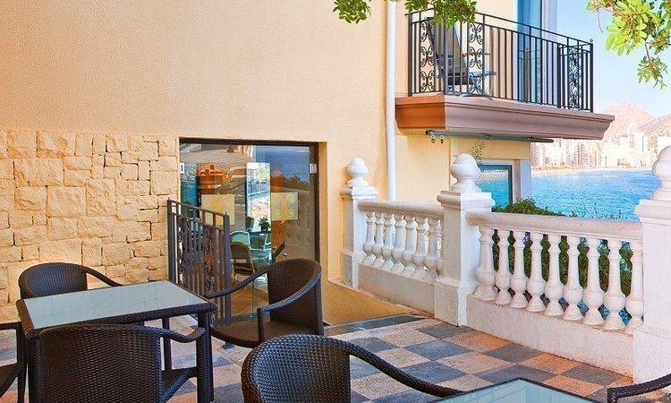 Terraza 'Gourmet' Hotel Villa Venecia Boutique Gourmet Benidorm