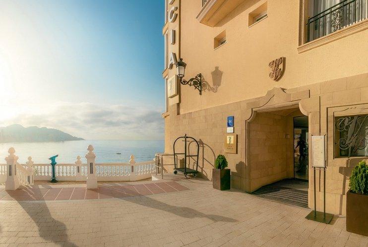 Fachada Hotel Villa Venecia Boutique Gourmet Benidorm