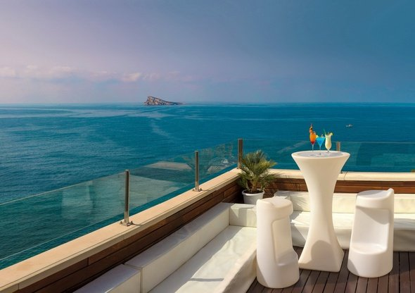 Sunset terrace & chill out hotel villa venecia boutique gourmet benidorm