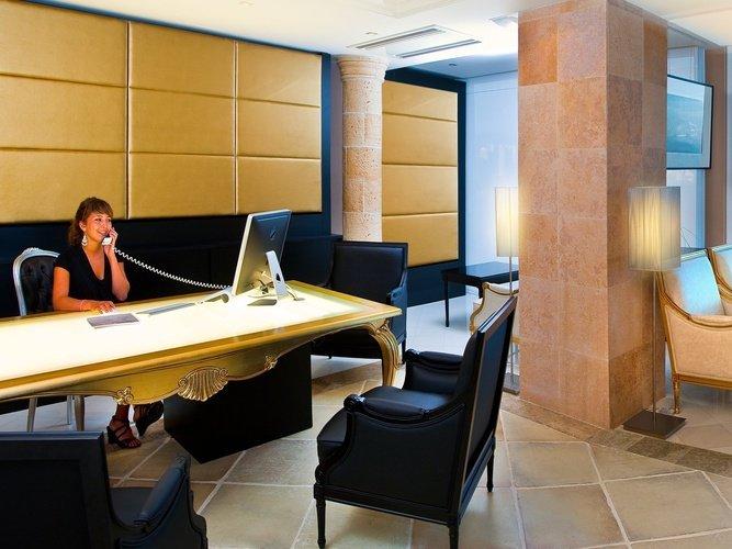 Recepción Hotel Villa Venecia Boutique Gourmet Benidorm