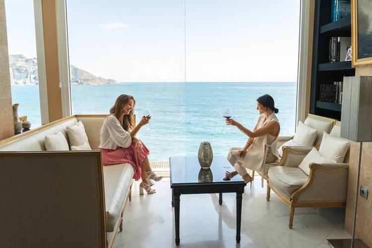 Interiores hotel villa venecia boutique gourmet benidorm